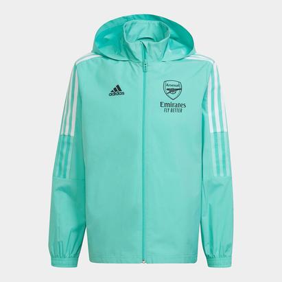 adidas Arsenal All Weather Jacket 2021 2022 Junior