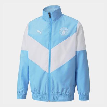 Puma Manchester City Pre Match Jacket 2021 2022 Junior