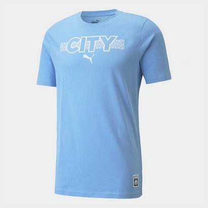 Puma Manchester City Core T Shirt Mens