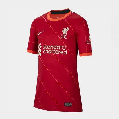 Nike Liverpool Home Shirt 2021 2022 Junior