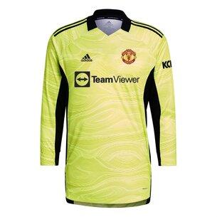 adidas Manchester United Home Goalkeeper Shirt 2021 2022 Junior