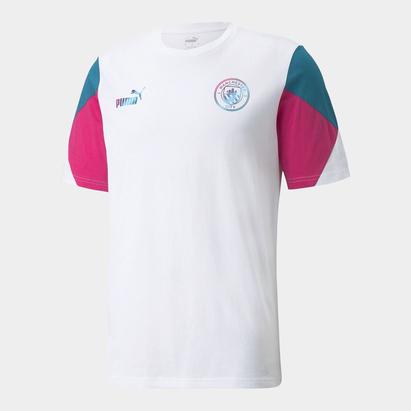 Puma Manchester City Cult T-Shirt Mens