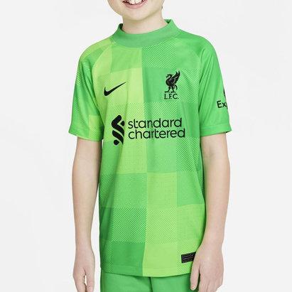 Nike Liverpool Home Goalkeeper Shirt 2021 2022 Junior
