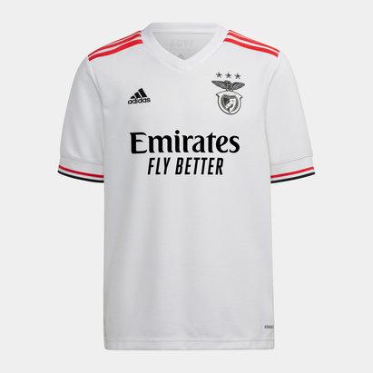 adidas Benfica Away Shirt 2021 2022 Junior