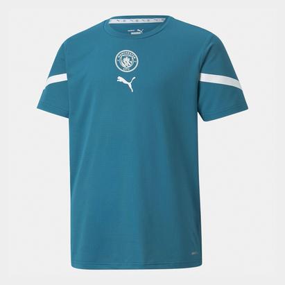 Puma Manchester City Pre Match Shirt 2021 2022 Junior
