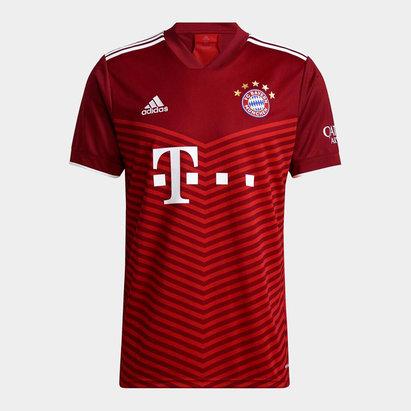 adidas Bayern Munich Home Shirt 2021 2022