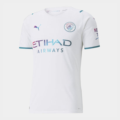 Puma Manchester City Authentic Away Shirt 2021 2022