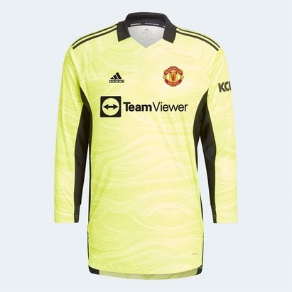 adidas Manchester United Home Goalkeeper Shirt 2021 2022