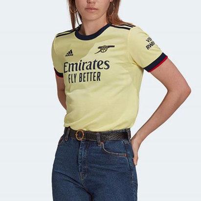 adidas Arsenal Away Shirt 2021 2022 Ladies