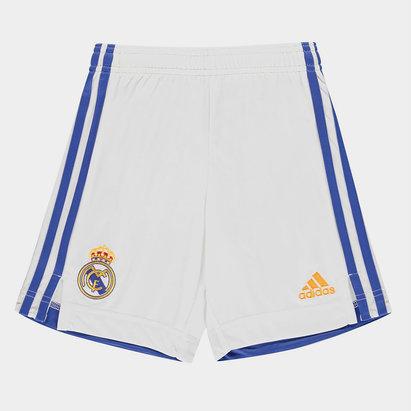 adidas Real Madrid Home Shorts 2021 2022 Junior