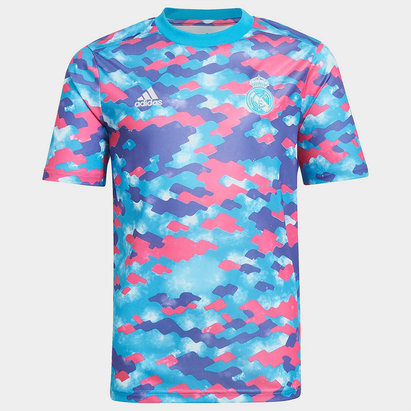 adidas Real Madrid Pre Match Shirt 2021 2022 Junior