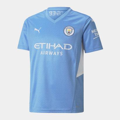 Puma Manchester City Home Shirt 2021 2022 Junior