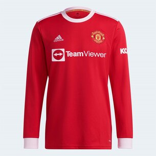 adidas Manchester United Long Sleeve Home Shirt 2021 2022
