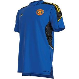 adidas Manchester United European Training Shirt 2021 2022 Mens
