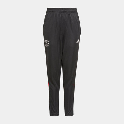 adidas Manchester United Track Pants 2021 2022 Junior