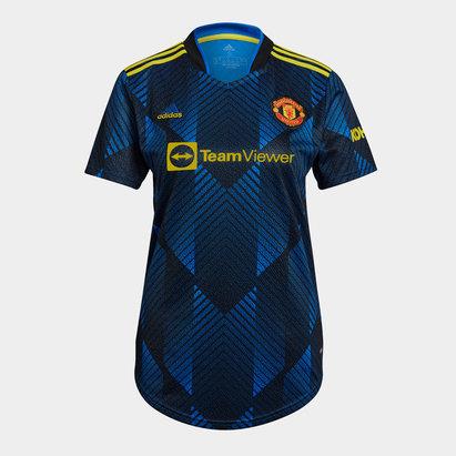 adidas Manchester United Third Shirt 2021 2022 Ladies