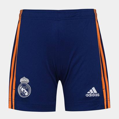 adidas Real Madrid Away Shorts 2021 2022 Junior