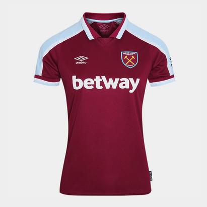 Umbro West Ham United Home Shirt 2021 2022 Ladies