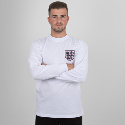 Score Draw Angleterre 1996 - Maillot de Foot No 6 Rétro Domicile Finale Coupe du Monde