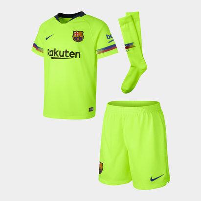 Nike FC Barcelone 18/19 - Kit de Foot Extérieur Enfants