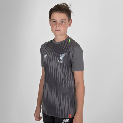 New Balance Liverpool FC 18/19 - Maillot Entraînement de Foot Matchday Elite Enfants