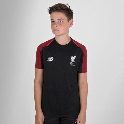 New Balance Liverpool FC 18/19 - Maillot Entraînement de Foot Elite Enfants