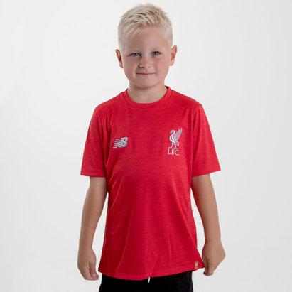 New Balance Liverpool FC 18/19 - Tshirt Entraînement de Foot Enfants
