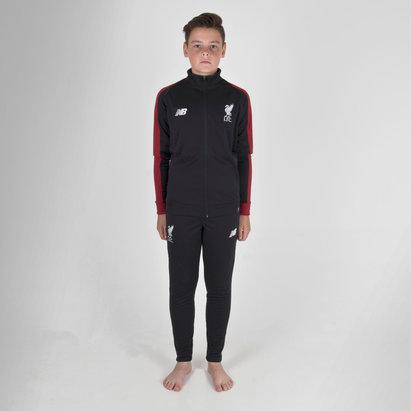New Balance Liverpool FC 18/19 - Pantalon de Foot Présentation Enfants