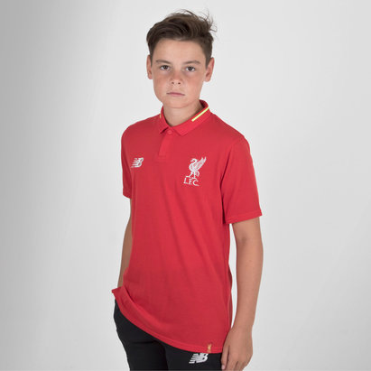 New Balance Liverpool FC 18/19 - Polo de Foot Loisirs Elite Enfants