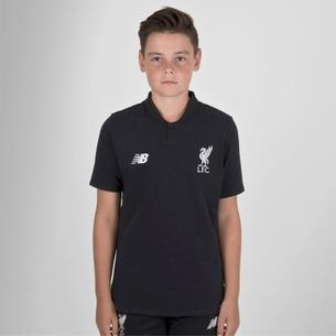 New Balance Liverpool FC 18/19 - Polo de Foot Classique Elite Enfants