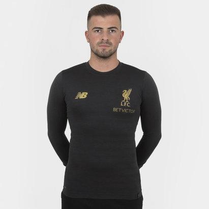 New Balance Liverpool FC 18/19 - Tshirt de Foot Sans Couture Managers M/L