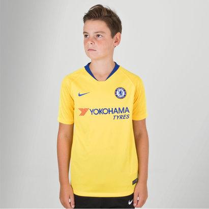 Nike Chelsea FC 18/19 - Maillot de Foot Extérieur Enfants