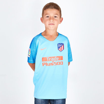 Nike Athletico Madrid 18/19 - Maillot de Foot Extérieur Enfants