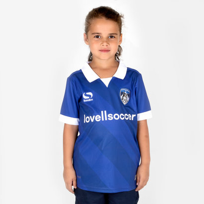 SportsDirect Oldham Athletic 18/19 - Maillot de Foot Domicile Enfants