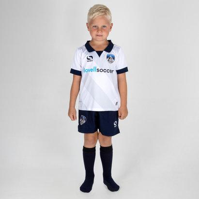 Sondico Oldham Athletic 18/19 - Kit de Foot Extérieur Enfants