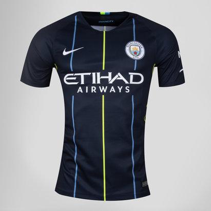 Nike Manchester City 18/19 - Maillot de Foot Réplique Extérieur Enfants