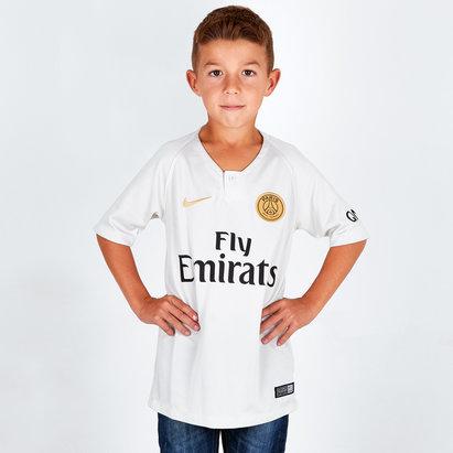 Nike Paris Saint-Germain 18/19 - Maillot de Foot Réplique Extérieur Enfants
