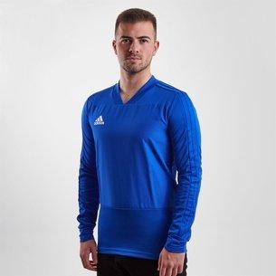 adidas Maillot d'entrainement de football Condivo 18 en bleu