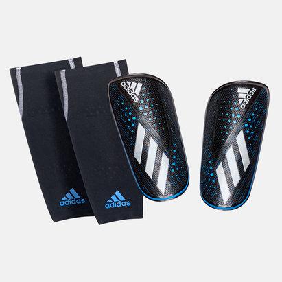 adidas Protèges tibias avec manchons de compression, X Foil d'adidas