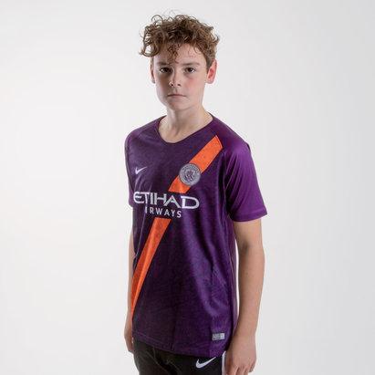 Nike Maillot 3eme réplique de football pour enfants, Manchester City 2018/2019