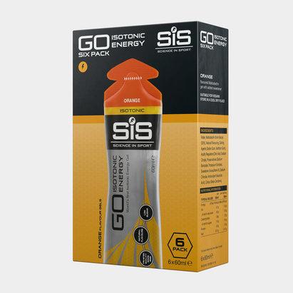 SiS Go Isotonic, Gel d'Energie en pack de 6 x 60ml