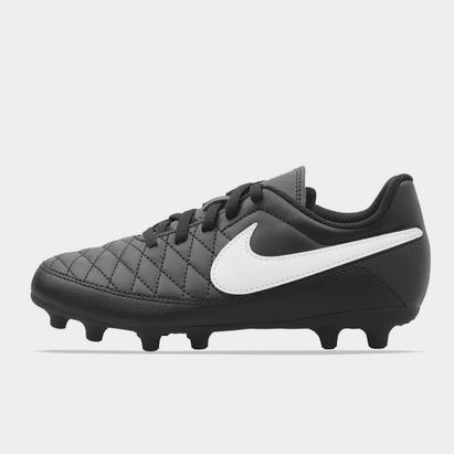 Nike Majestry, crampons de Football terrain dur pour enfants
