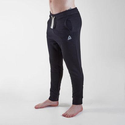 Reebok Pantalon avec tissu éponge Français