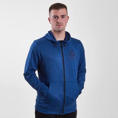 Reebok Speedwick, Sweatshirt à capuche avec zip intégral