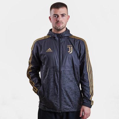 adidas Veste de football coupe vent Juventus de Turin 2019