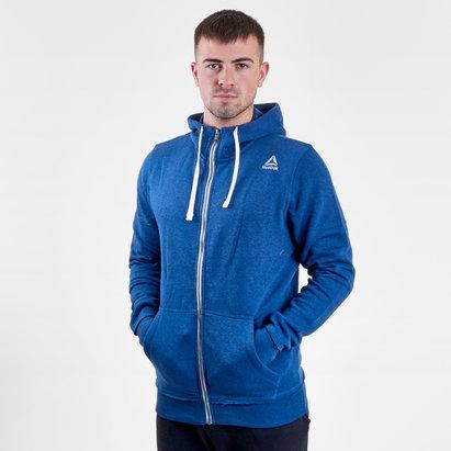Reebok Sweatshirt d'entrainement à capuche avec zip intégral