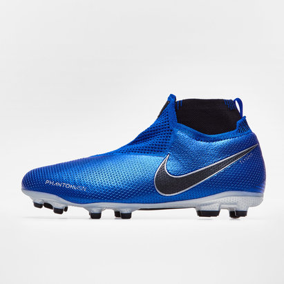 Nike Phantom Vision Elite, Largeur de pied D, Crampons de Football, Terrain sec/Multi-surface