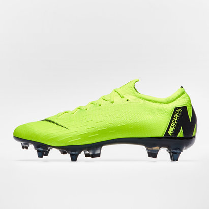 Nike Mercurial Vapor XII Elite, Crampons de Foot Pro, Terrain mou