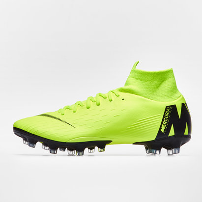 Nike Mercurial Superfly VI, Crampons de Football Pro, Terrain synthétique
