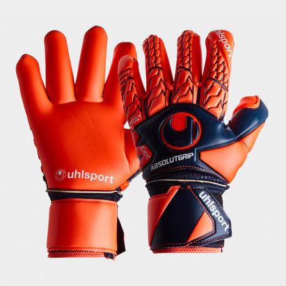 Uhlsport Next Level, Gants de gardien de but, adhérence absolue, Support doigts